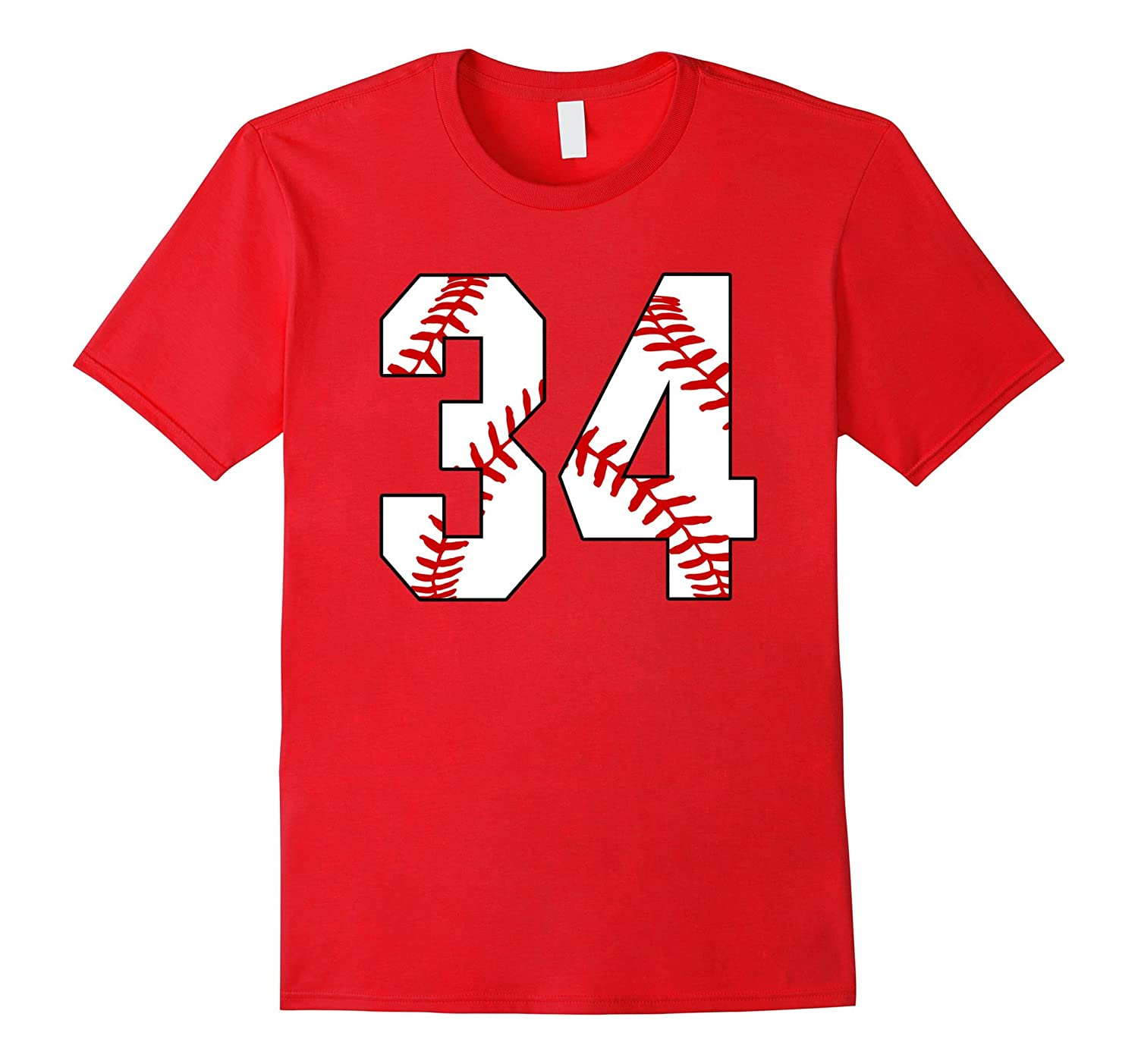 34 Baseball Laces Baseball Mom Jersey Love Baseball T-shirt-PL