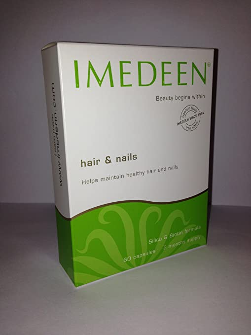The Imedeen Hair & Nails 60 Tablets travel product recommended by Caleb Backe on Pretty Progressive.