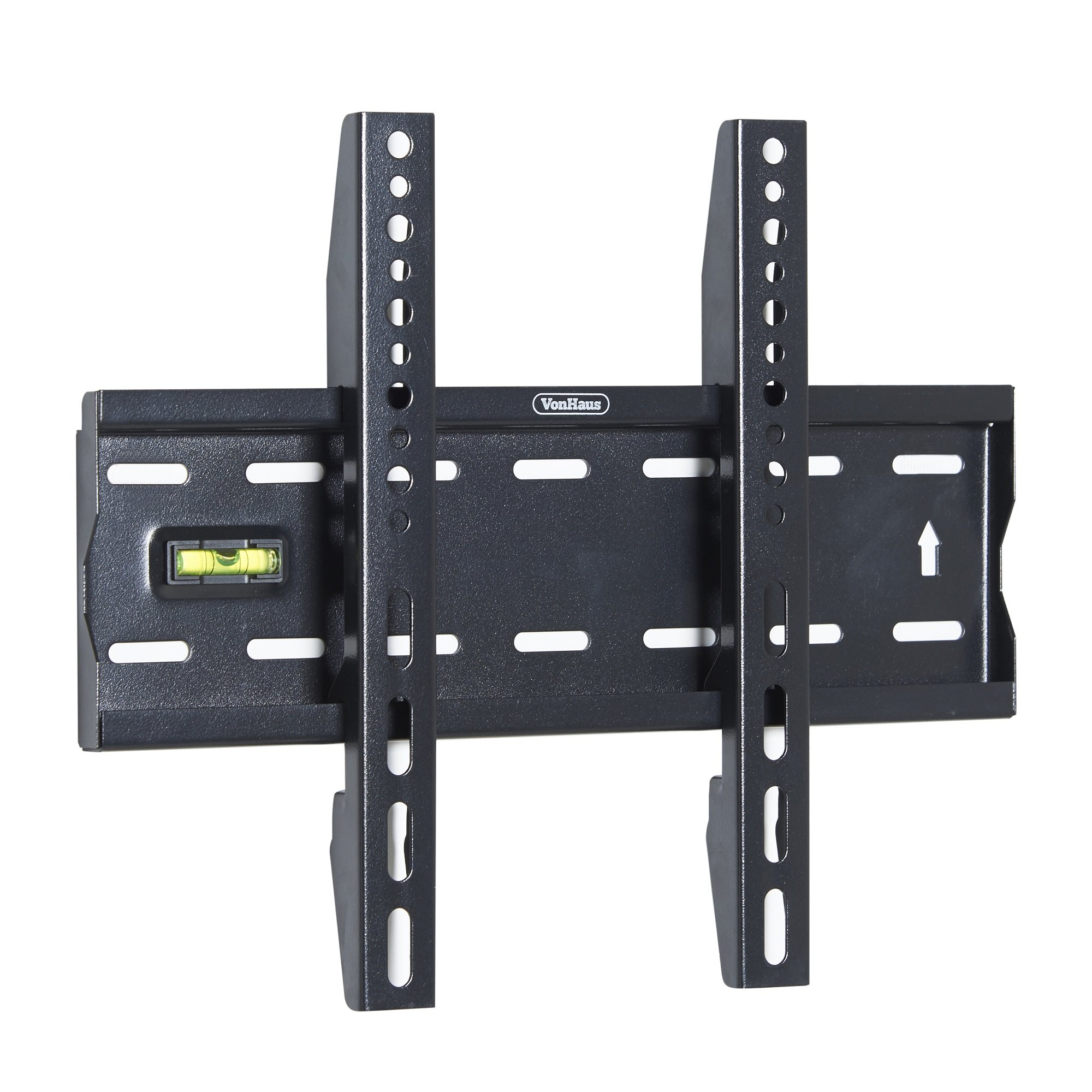 VonHaus TV Wall Mount Bracket for Most 15-42 inch LED, LCD, Plasma and Flat Screens, up to 88lbs lbs Weight Capacity, Max VESA 300x200 with Slim Profile and Bubble Level
