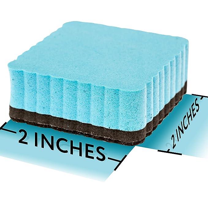 12 borradores magnéticos de alta calidad para pizarra blanca ...