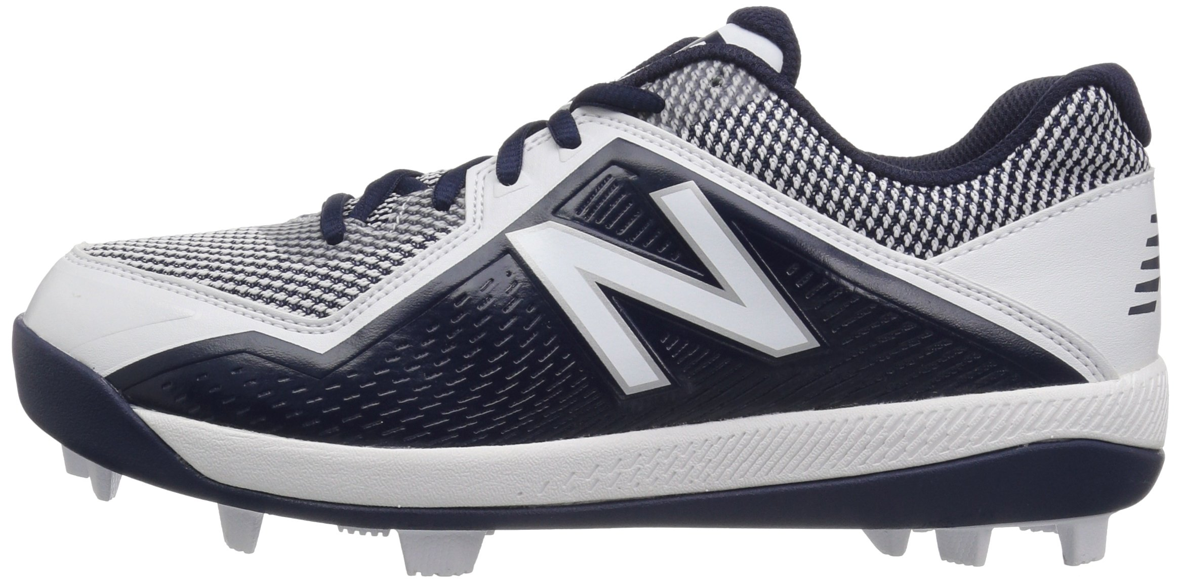 New Balance Boys' 4040v4, Navy/White, 1 W US Little Kid by New Balance (Image #5)