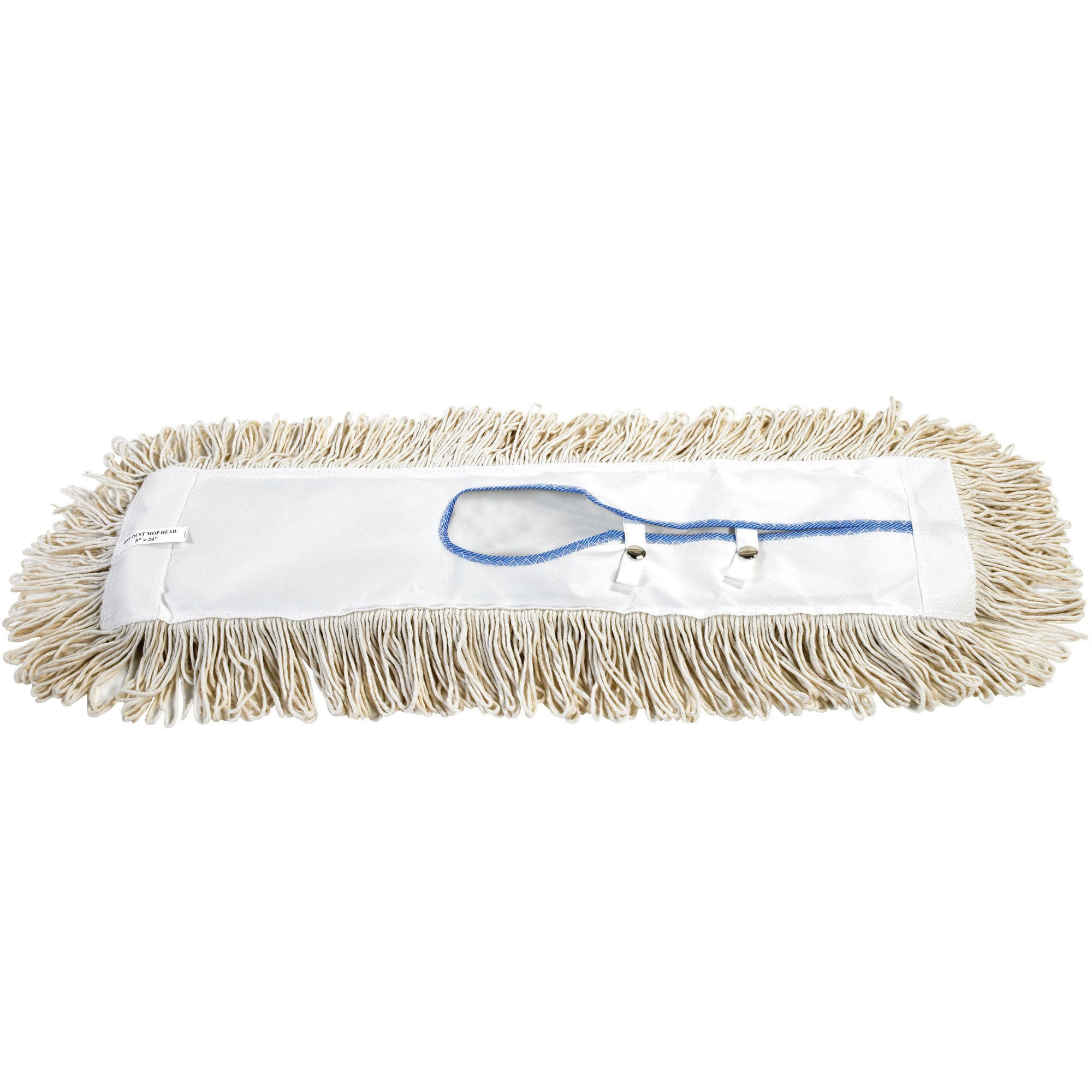 O-Cedar JAN137 36'' Economy Dry Dust Mop Replacement Heads (Pack of 12)