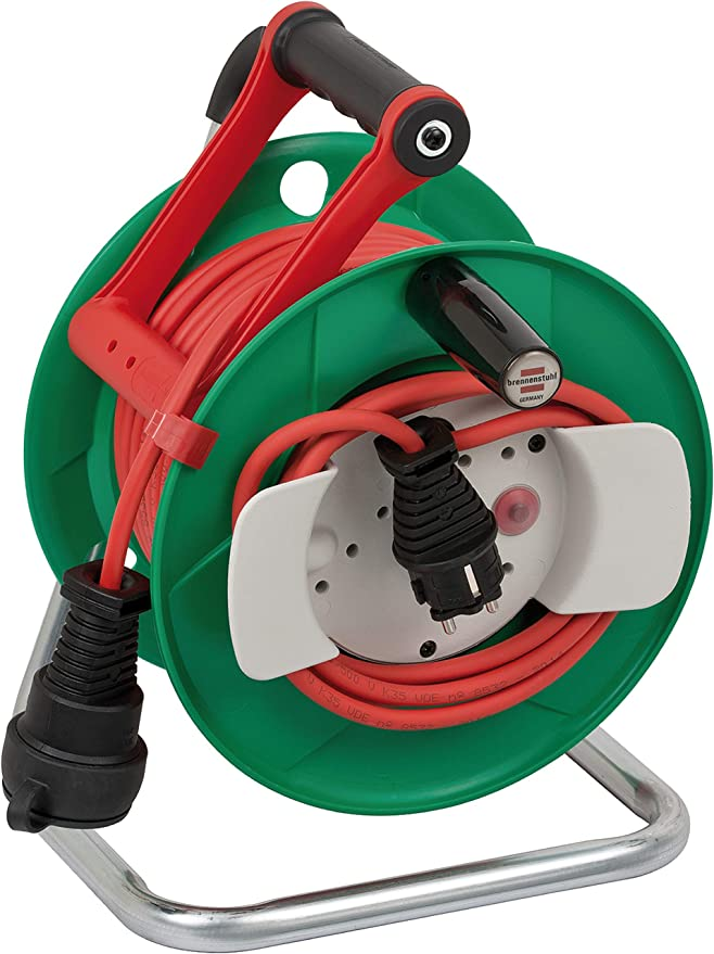Brennenstuhl 1148370 Garant - Carrete alargador de cable para ...