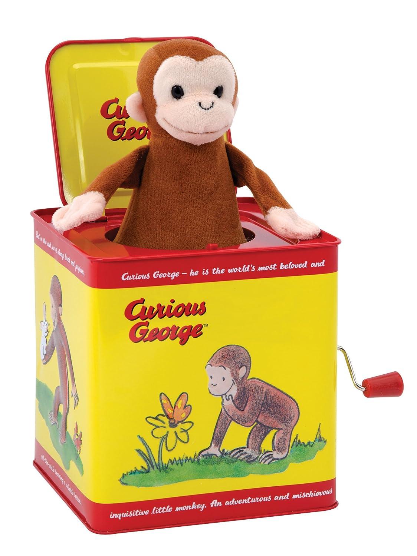 Schylling Sock Monkey Jack in the Box SMJB