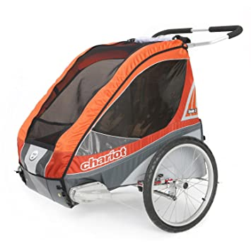 Chariot Kinderanhänger Corsaire 1 Platz Orange: Amazon.de: Sport ...