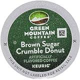 GREEN MOUNTAIN Coffee Keurig K-Cups, Brown Sugar Crumble Donut, 3.7 Ounce, 12 ct