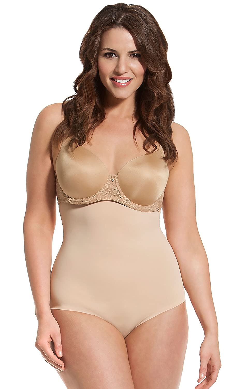 HookedUp Shapewear Women's High Waist Shaping Brief 1070