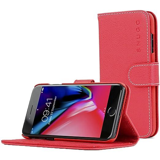 43 opinioni per Cover iPhone 7 and 8, Snugg Apple iPhone 7 and 8 Flip Custodia Case [Slot Per