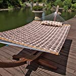 Lazy Daze Hammocks Double Quilted Fabric Swing
