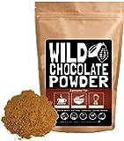 Organic Cacao Powder, Wild Dark Chocolate Powder, Handcrafted, Single-Origin, Fair Trade, Organic, Non-Alkalized Chocolate from Peruvian Heirloom Cacao beans (12 ounce)