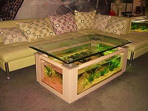 36 gallon rectangle coffee table aquarium