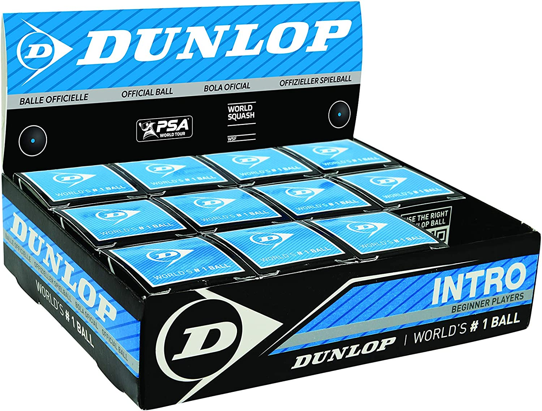 Dunlop Progress Squash Ball 1 Ball Included