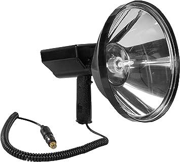 45 Million Candlepower Handheld Spotlight 10 Lens 80 Watt Hid 7200 Lumens Spot Flood 16 Batt Clamps Amazon Com
