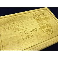 """Breaking Bad Ispirato """"Lets Cook Walter Bianco in legno taglio Tagliere/"""