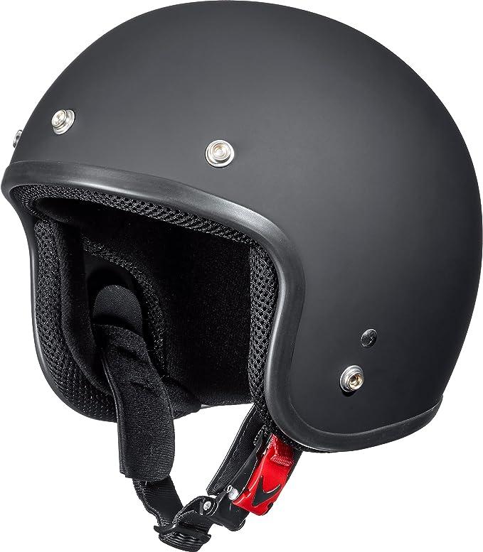 Delroy Jethelm Motorradhelm Helm Motorrad Mopedhelm Jethelm 1 2 Unisex Chopper Cruiser Sommer Thermoplast Bekleidung