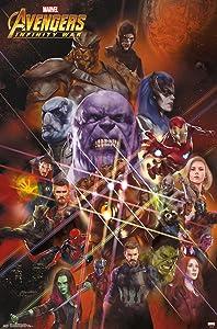 Trends International Avengers: Infinity War - Universe Wall Poster, 22.375