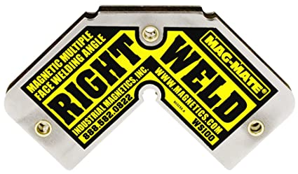 MAG-MATE WS100 Right Weld Magnetic Square with 45 lb Capacity