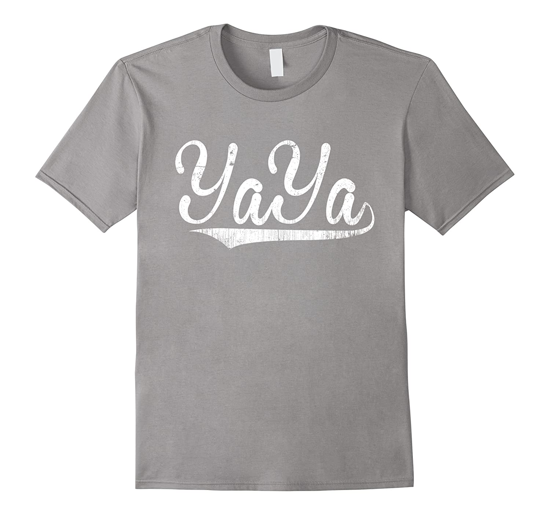 Yaya Shirt Best Grandma Gifts Happy Birthday Vaci