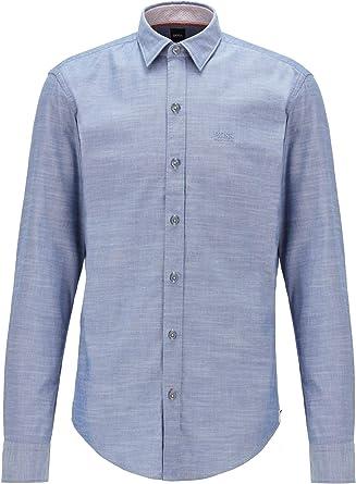 Hugo Boss 50438496 - Camisa slim fit de algodón Oxford ...