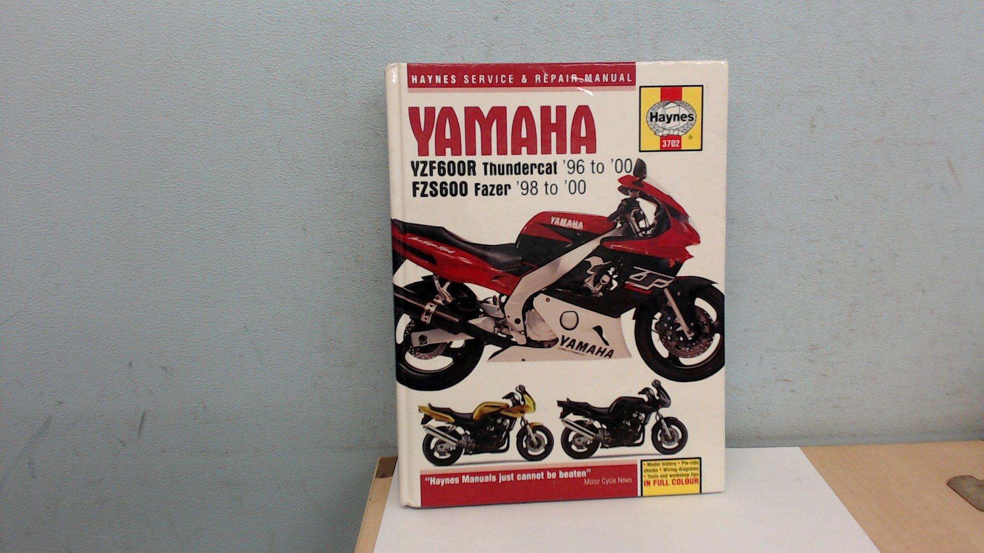 Haynes Yamaha YZF600R Thundercat '96-'00 & FZS600 Fazer '98-'00 (Haynes Repair  Manuals): Matthew Coombs: 9781859607022: Amazon.com: Books
