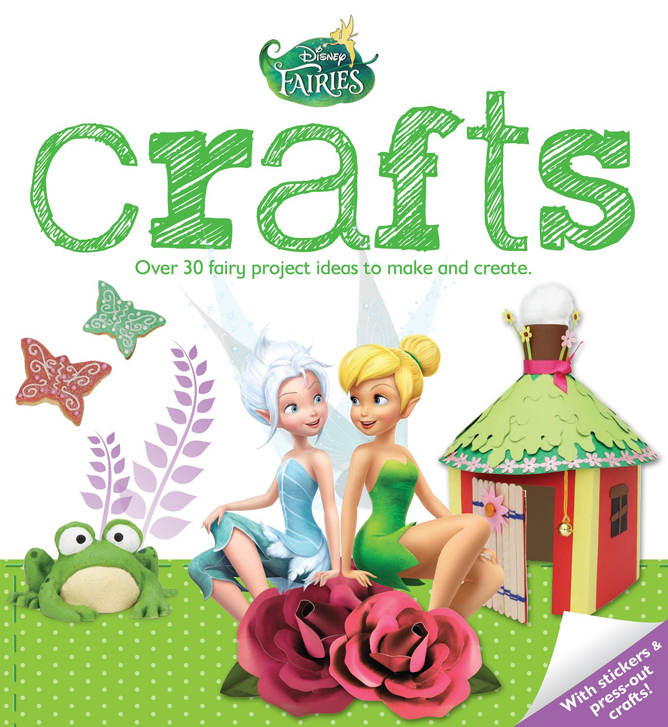 Disney Fairies Crafts: Over 30 Fairy Project Ideas to Make