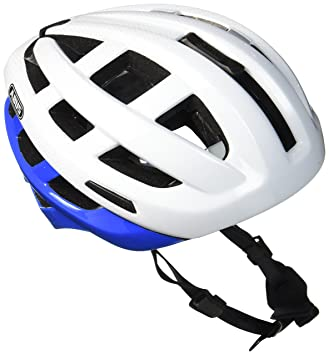 Abus ABUS In Vizz - Casco de Bicicleta, color Azul (Blue Comb),