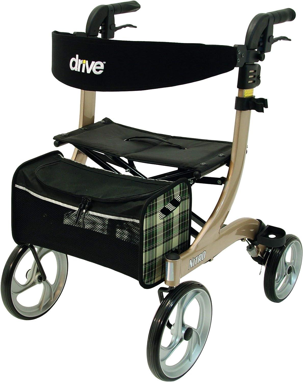 Drive Medical champagner Rollator