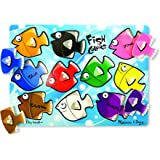 Melissa and Doug Fish Colors Mix 'n Match Peg