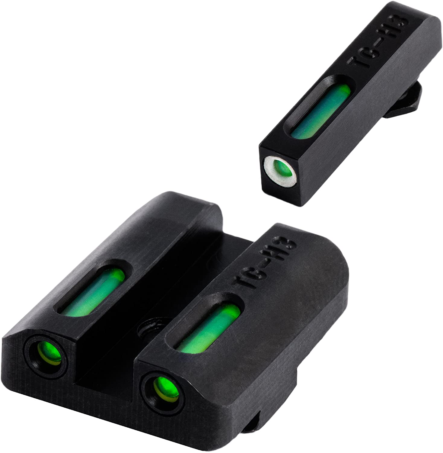TRUGLO TFX Tritium and Fiber-Optic Xtreme Handgun Sights for Glock Pistols