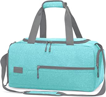 MarsBro Water Resistant Sports Gym Travel Weekender Duffel Bag with Shoe Compartment