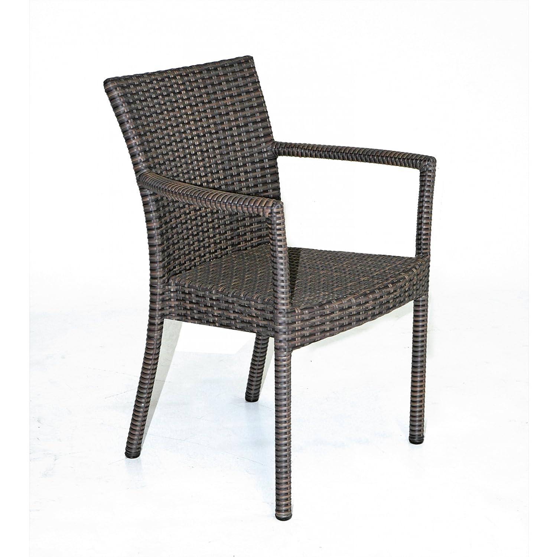 Sonnenpartner Gartenstuhl Sessel Modell Cartago cappuccino 80061251
