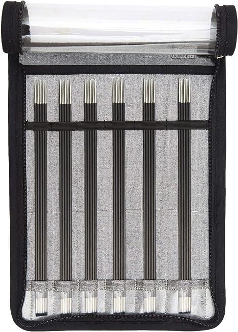 KnitPro Karbonz Needles Carbon all Sizes Sock knitting needles
