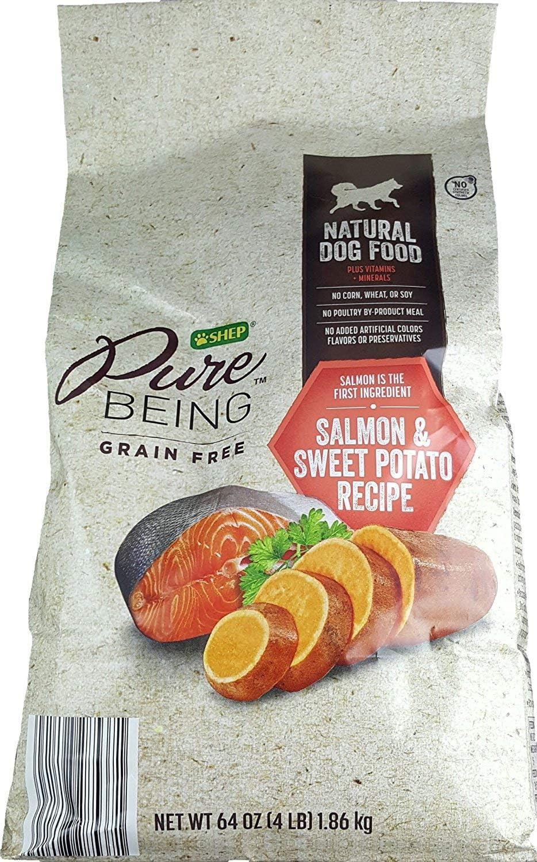 Amazon Com Shep Pure Being Grain Free Natural Dog Food 4lbs