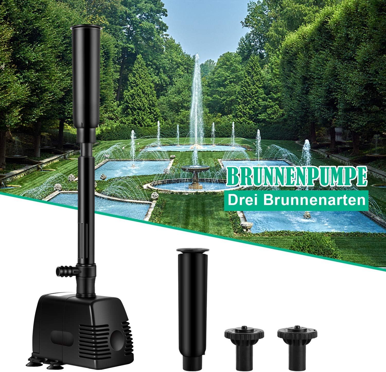 SpringbrunnenPumpe,Bachlaufpumpe,Brunnenpumpe Bachlauf