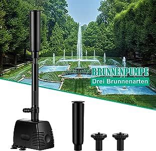 Forever Speed Bomba de Fuente, Bomba del Estanque, Fuente, Bomba de Agua, Bomba de jardín, Bomba de Arroyo: Amazon.es: Jardín