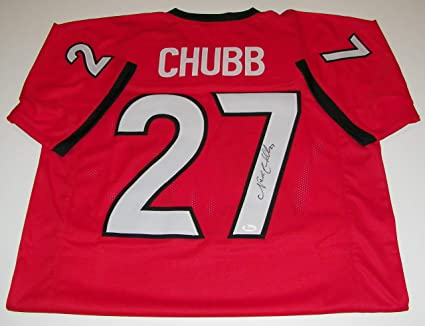 authentic nick chubb jersey