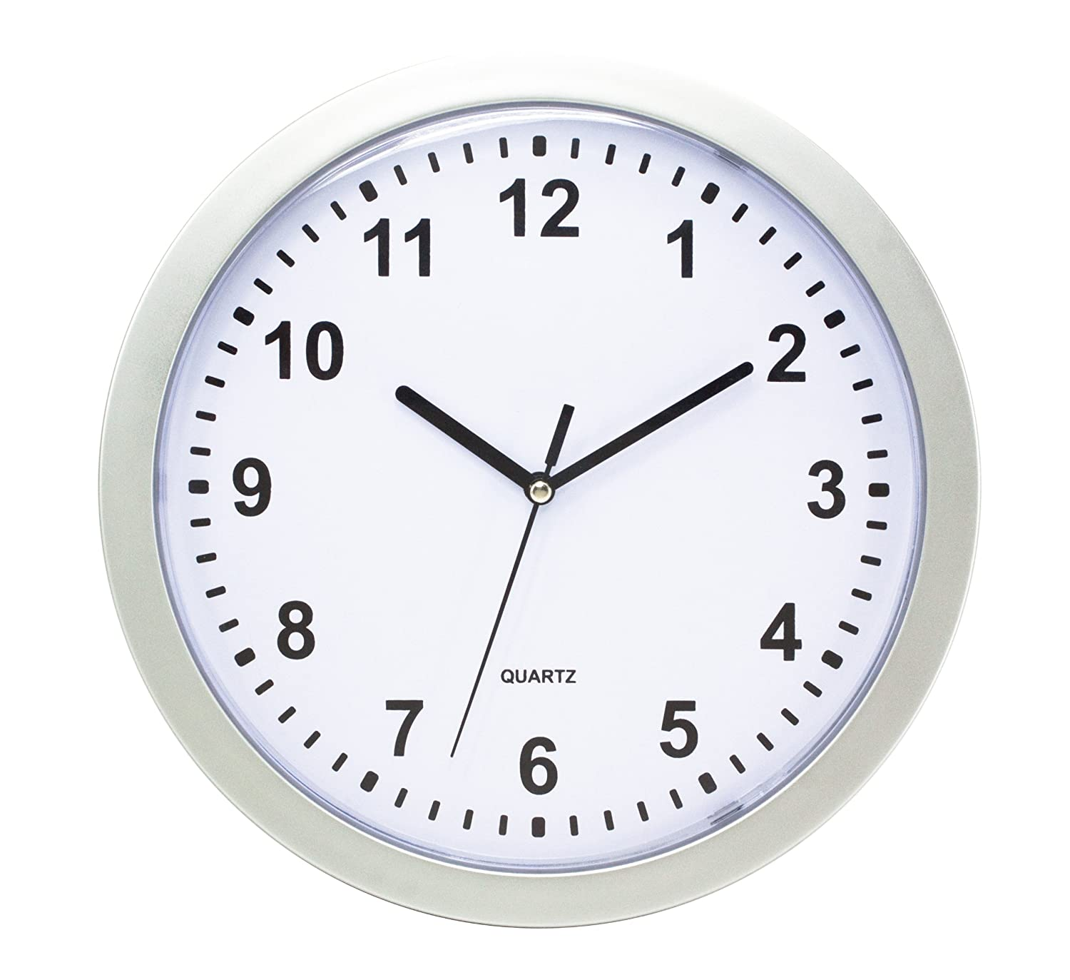 Amazon total vision 10 wall clock hidden storage home amazon total vision 10 wall clock hidden storage home kitchen amipublicfo Image collections