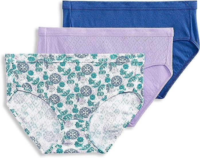 6 Pack Jockey Womens Underwear Elance Hipster