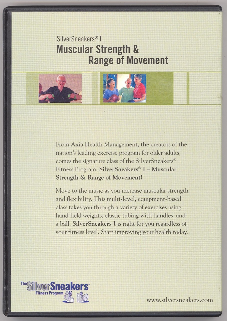 Amazon.com: The Silver Sneakers Fitness Program DVD Muscular ...