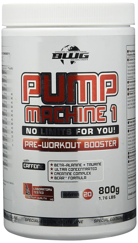 Bwg Pump Machine 1 Pre Workout Booster Mit Koffein Special Nan Ph Pro 3 800g Edition Elite Line Dosierlffel Cherry Fresh Geschmack Dose