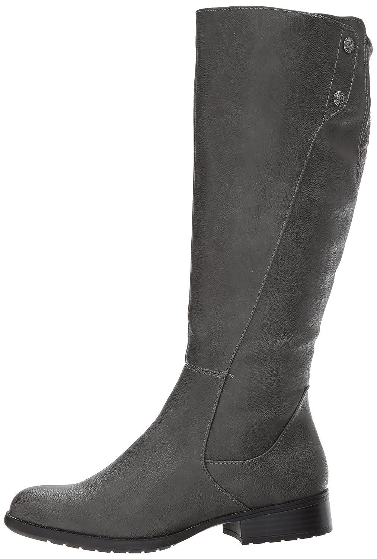 LifeStride Women's Xripley Riding Boot Grey B071GBCWKR 6 W US|Dark Grey Boot 59d877
