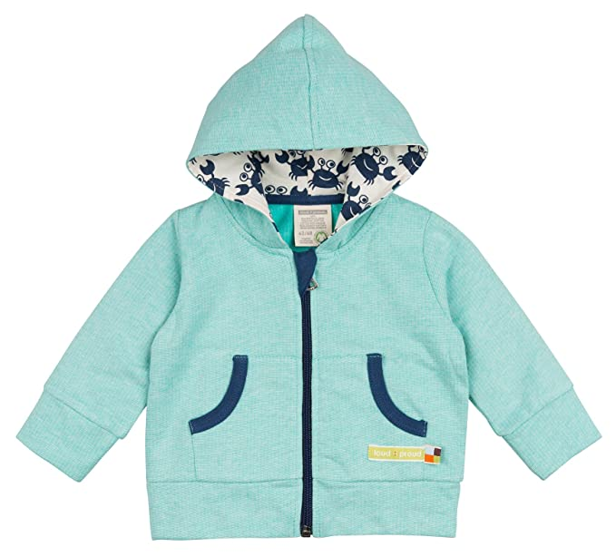 37a39970d5ef loud + proud Baby Sweatjacke