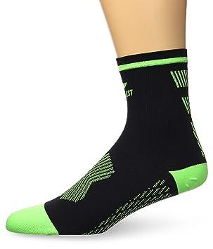Sportlast Pro Calcetines de Compresión para Trail, Negro / Verde, M: Amazon.es: Deportes y aire libre