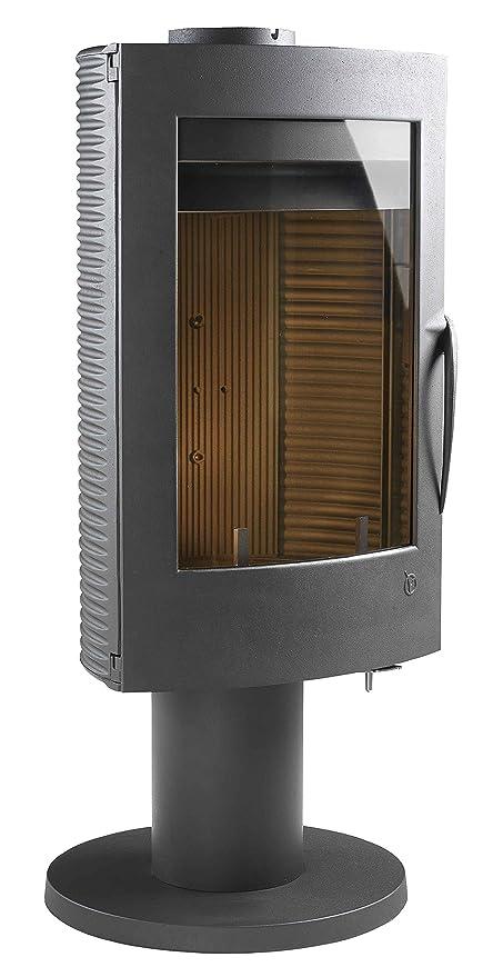 Giratorio de hierro fundido estufa de leña INVICTA Pharos - 10kW
