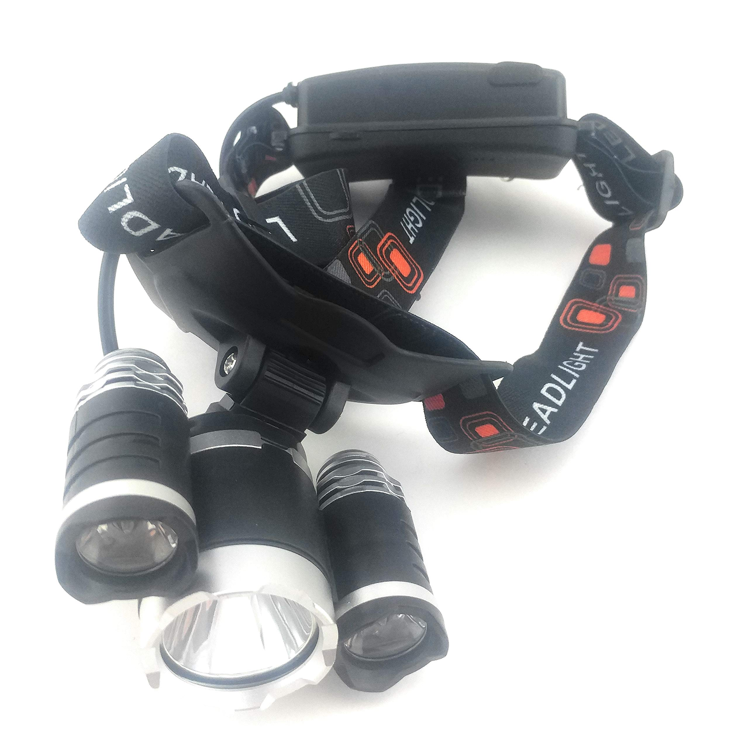 Waterproof 1000 Lumens LED Rechargeable Headlamp by Camco Tools