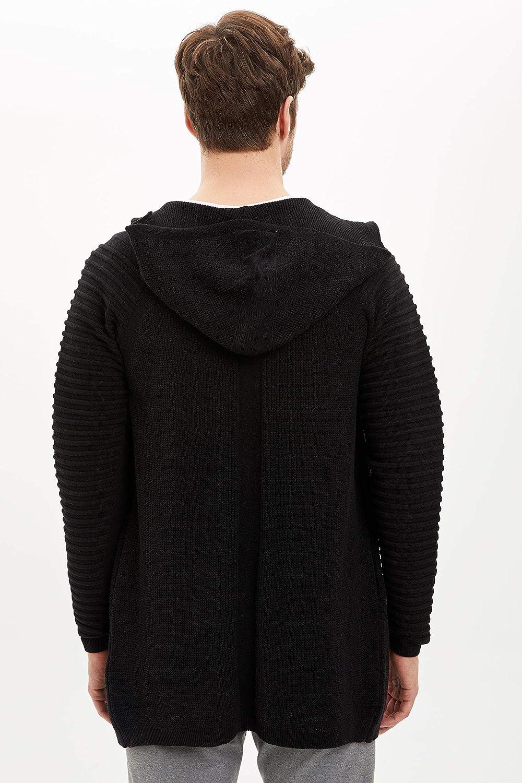 DeFacto C/árdigan con capucha y cremallera para hombre
