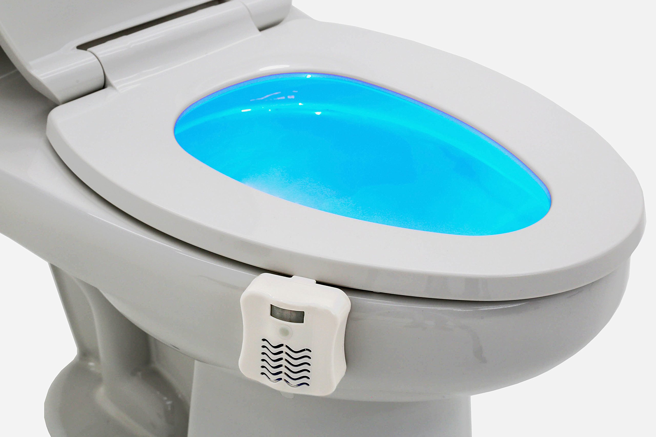 GlowBowl Fresh - Motion Activated Toilet NightLight w/Air Freshener - Version 2 Longer Lasting by Glow Bowl