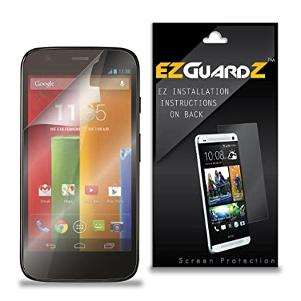 Amazon 2 Pack Ezguardz Screen Protector For Motorola Moto G