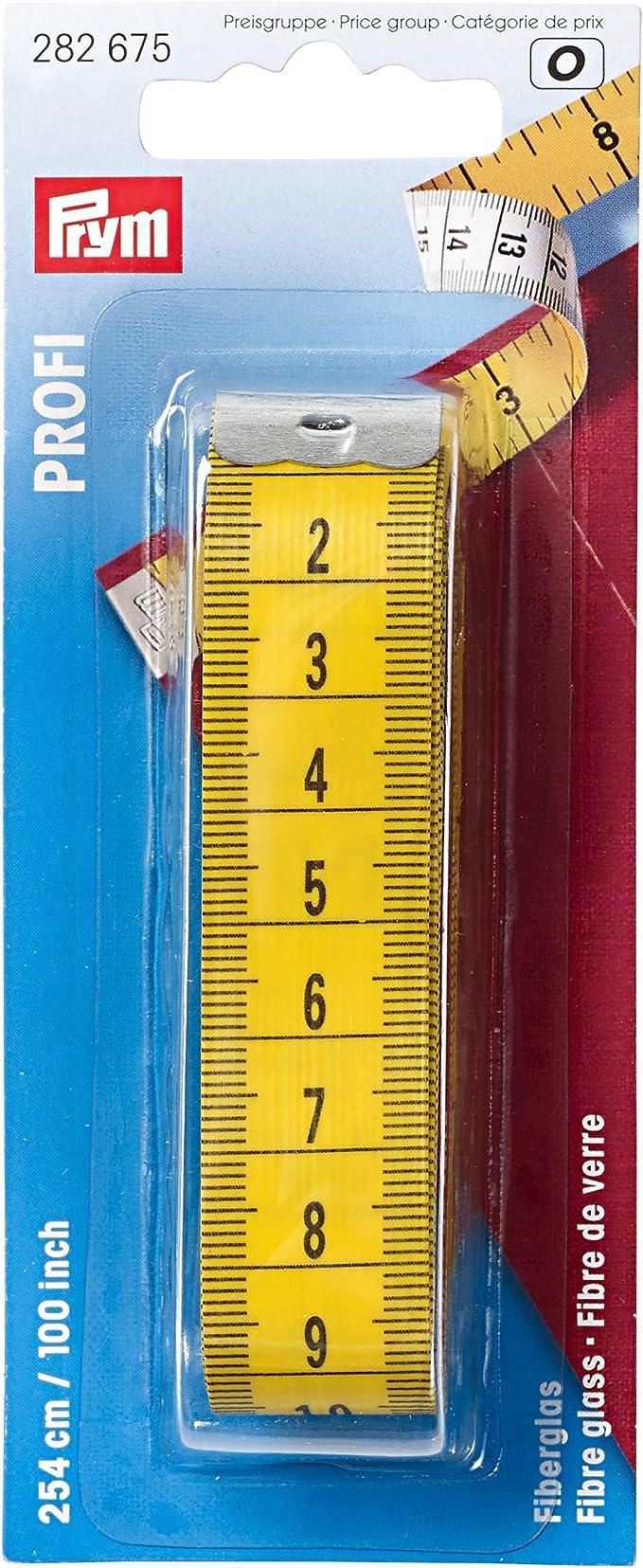 "Prym Professional Fibreglass Tape Measure 254cm//100/"" Tailors Dressmaking 282675"