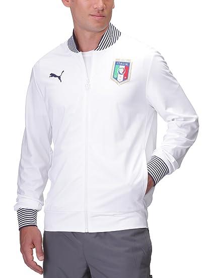 Puma - Camiseta de equipación de fútbol sala para hombre, tamaño XL, color blanco